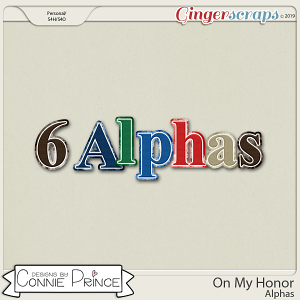 On My Honor - Alpha Pack AddOn by Connie Prince