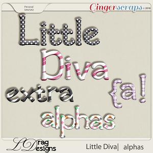 Little Diva: Extra Alphas by LDragDesigns