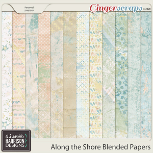 Along the Shore Blended Papers by Aimee Harrison