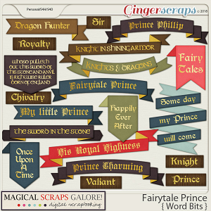 Fairytale Prince (word bits)