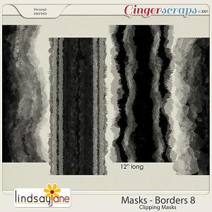 Masks Borders 8 by Lindsay Jane