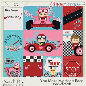 You Make my Heart Race Pocketcards