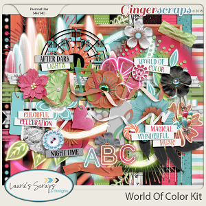 World of Color Page Kit