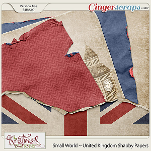 Small World ~ UK ShabbyPapers