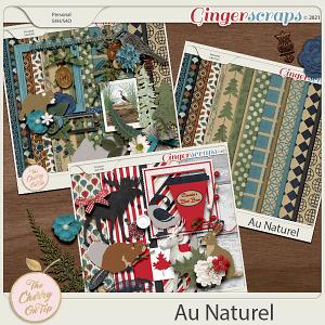 The Cherry On Top Scrapbooking Kit: Au Naturel