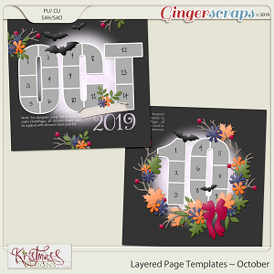 Layered Page Templates ~ October