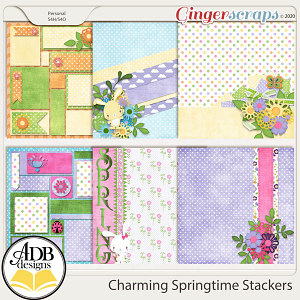 Charming Springtime Stackers by ADB Designs