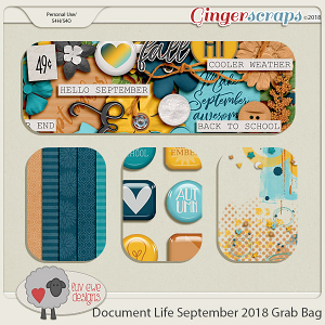 Document Life September 2018 Grab Bag by Luv Ewe Designs