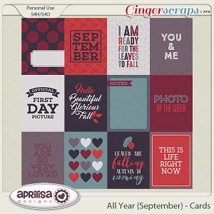 All Year {September} - Cards