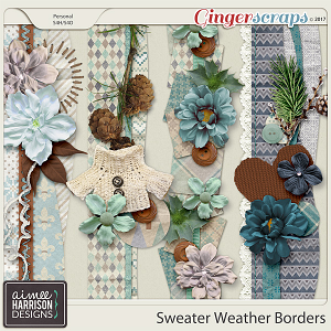 Sweater Weather Borders by Aimee Harrison