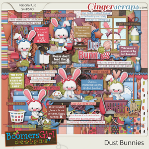 Dust Bunnies by BoomersGirl Designs