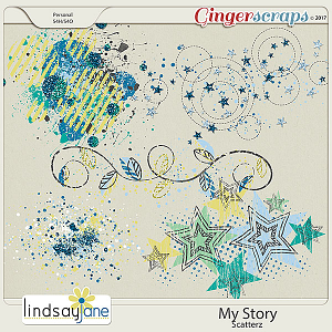 My Story Scatterz by Lindsay Jane