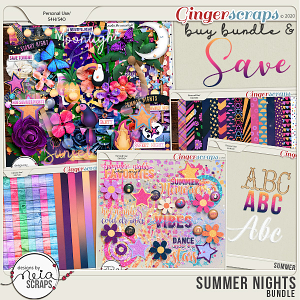 Summer Nights - Bundle - by Neia Scraps