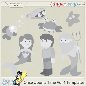 Doodles By Americo: Once Upon a Time Vol 4 Templates
