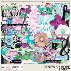 Renewed Hopes - Page Kit - by Neia Scraps