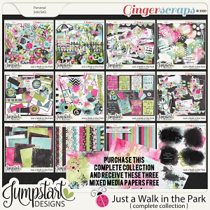 Just a Walk in the Park {Complete Collection} Jumpstart Designs