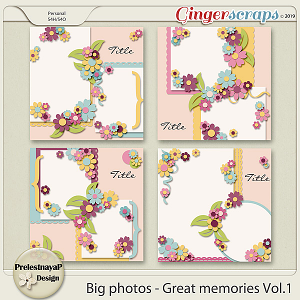 Big photos - Great memories Templates Vol.1
