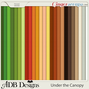 Under The Canopy Cardstock Solids by ADB Designs