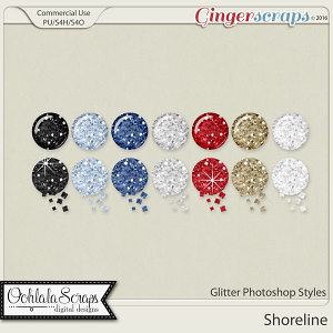 Shoreline Glitter CU Photoshop Styles