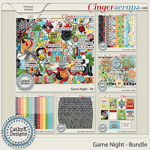 Game Night - Bundle by CathyK Designs