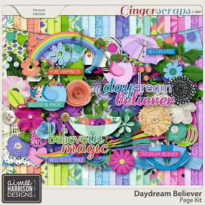 Daydream Believer Page Kit by Aimee Harrison