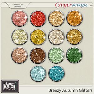 Breezy Autumn Glitters by Aimee Harrison