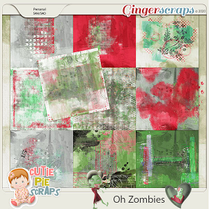OH Zombies-Painted Papers