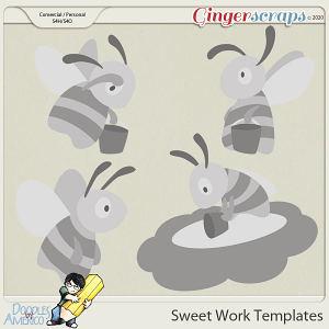 Doodles By Americo: Sweet Work Templates