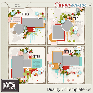 Duality #2 Templates by Aimee Harrison