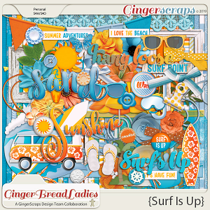 GingerBread Ladies Collab: Surf Is Up