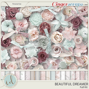 Beautiful Dreamer Full Kit by Ilonka's Designs