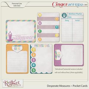 Desperate Measures Pocket Cards