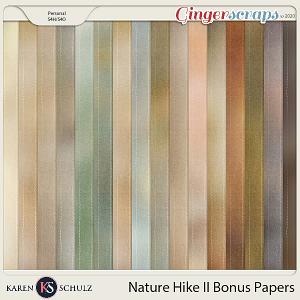 Nature Hike II Bonus Papers by Karen Schulz