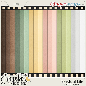Seeds of Life {Solid Papers} by Jumpstart Designs