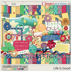 Life Is Good By Dandelion Dust Designs