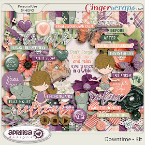 Downtime - Kit by Aprilisa Designs