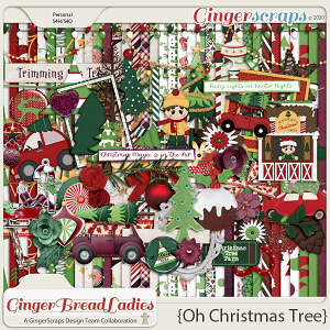 GingerBread Ladies Collab: Oh Christmas Tree