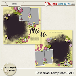 Best time Templates Set2
