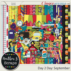 Day 2 Day: September KIT by Heather Z Scraps