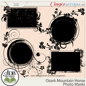 Ozark Mountain Home Masks by ADB Designs