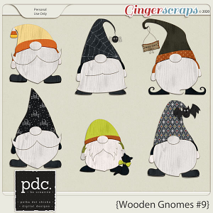 Wooden Gnomes #9
