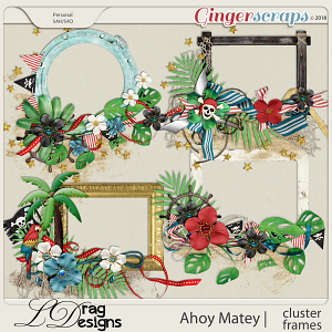 Ahoy Matey: Cluster Frames by LDragDesigns
