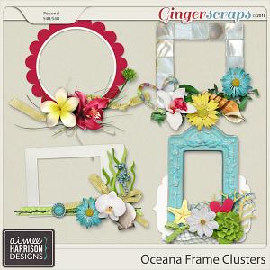 Oceana Frame Clusters by Aimee Harrison