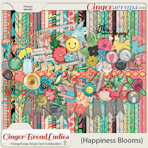 GingerBread Ladies Monthly Mix: Happiness Blooms