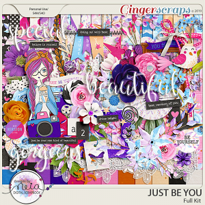 Just Be You - Full Kit - by Neia Scraps
