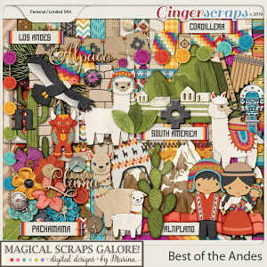 Best of the Andes (page kit)