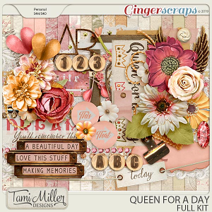 Queen for a Day Full Kit by Tami Miller Designs