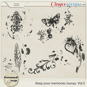 Keep your memories Stamps Vol.5