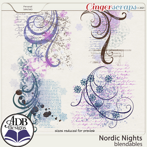 Nordic Nights Blendables by ADB Designs