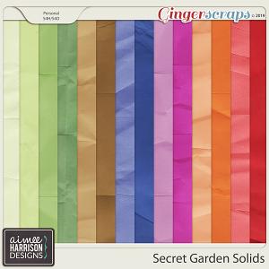 Secret Garden Solid Papers by Aimee Harrison
